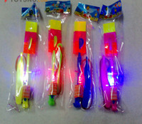 Wholesale best selling Newest toy LED Amazing arrow helicopter Flying umbrella Space UFO LED arrow helicopter ps
