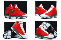 Cheap Free Shipping New Model High Quality Retro 13 Rocket Men's Basketball Sport Footwear Sneakers Trainers Shoes