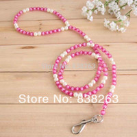 beaded dog leashes - Pet beaded chain Dogs star anise acrylic beaded string leash Puppy cats traction rope Fashion trendy