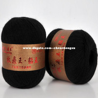 Yarn mink cashmere - Genuine mink wool hand knitted line Discounted Need cashmere animal husbandry Ding Wang Yarn Clothing Fabric