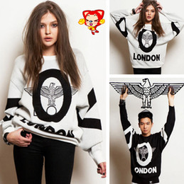 Wholesale Boy London Punk Eagle Print Loose Long Sleeve Autumn And Winter Sweatshirt