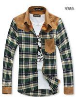 2014 autumn fall winter Fashion new men' s shirts Korean...