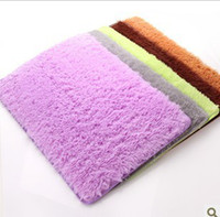 Wholesale Free delivery of Japanese style can be washed super soft filaments hairy bedroom anti skid carpet