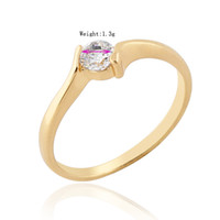 14k gemstone ring - Chic K Gold White Gold Plated Ring Artificial Gemstone Jewelry designs US