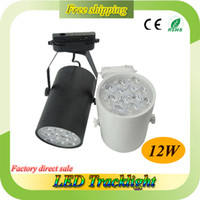 Wholesale Dimmable W LED Track Light White and Black Body Housing Warranty Years Bridgelux Chip LED Track Spot Light