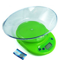 Wholesale High Quality Mini Portable Household Food Weighing Scales g kg Digital LCD Electronic Kitchen Food Diet Scale With Bowl