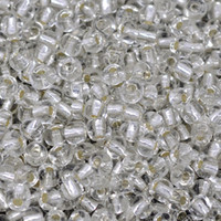 Bead Caps Fashion Beads Free Shipping 100 Gram Clear Glass Seed Beads 4mm Jewelry Making Findings