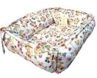 Wholesale 100 PP cotton Pet Beds soft warm dog sofa Pet Nest luxury Dog nest bowknot warm rectangle beds size