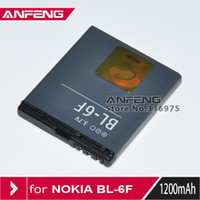 Yes ANFENG Nokia Free shipping BL-6F BL 6F Battery for Nokia N78 N79 N95