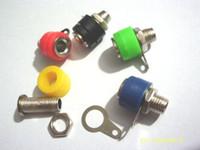 Adapter banana binding post - 4mm banana socket for Binding Post banana plug Power Test probe