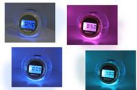 Wholesale 6 Color Changing Light Alarm Clock with Nature Sou LED Digital Alarm