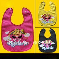 Wholesale 2014 New Fashion Cool Cute Rianbow High quality Feeding bibs layers Waterproof infant Burp Cloths YM1002