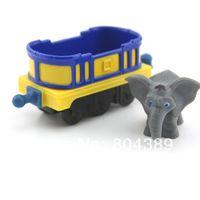 5-7 Years Bus Metal 100% original!!! Learning Curve Chuggington Diecast Train Toy --- Rare Mtambo's Safari Cars Elephant BLUE