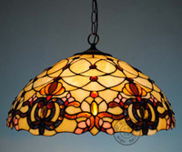 Wholesale Pendant Chandelier Hanging Light Ceiling Lamp Fixture Stained Glass lamp
