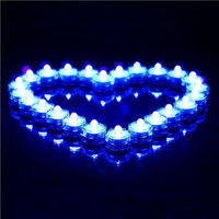Wholesale LED Submersible Candle Light Waterproof Tea Lights Wedding Party Tea Light Home Decoration Christmas Gifts Romantic Gifts Confession Candles