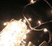Warm white led flash light string \ Christmas decorative lig...