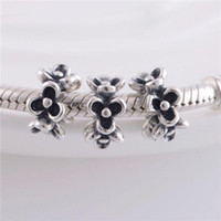 Wholesale 925 Sterling Silver Charms Original Screw Thread Crimp End LW162 Garland Jewelry Beads Compatible With European Pandora Bracelets