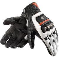 motorbike gloves - 2013 Original Guanto Stroke genuine Leather Street Gloves motorcycle motorbike racing gloves color Size M L XL
