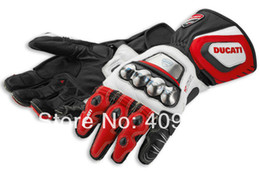 Corse 14 Leather Gloves motorcycle motorbike gloves Size S M L XL 2XL