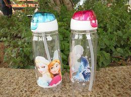 Wholesale Hot Selling European Children kids Cup Cartoon Frozen Elsa Anna PP Texture Suction Cup gift