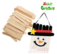 Animals popsicle stick - DIY Craft Tool Wooden Popsicle Sticks Wooden Spatula Ice Cream Stick Guaranteed Quality