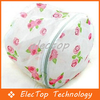 Wholesale Single Nylon Printing Folding Bra Support Wash Bag