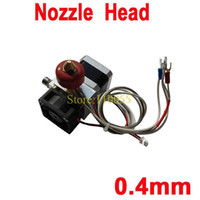 Other   12V 0.4mm Nozzle Thermocouple Single Nozzles 3D Printer Print Head Extruder Free Shipping