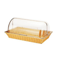 Wholesale Plastic showcase new Guinness bread bowl dessert food cake point basket pc transparent dust cover stainless steel tray cover