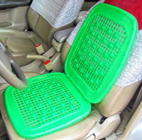 Wholesale Double layer thickening summer car cool cushion summer van truck four seasons general plastic seat cushion