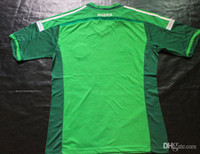 Thailand Quality World Cup Nigeria Home Shirts Green Soccer ...