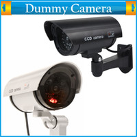 Wholesale Cheap Decoy Fake Dummy Flashing Light Infrared IR Led Indoor Outdoor Surveillance CCTV Security Bullet Camera Waterproof