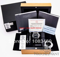Wholesale Top quality original box Black Pam Pam104 Marina Stailess Steel Automatic Mens Men s Watch Watches
