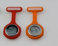 Wholesale 200pc Multi function Digital Silicone Nurse s Tunic Fob Watch with Quartz Movement