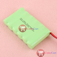 NI-MH ni-mh battery pack 7.2v - Coins Cart Practical New AA V MAH Ni MH Rechargable Battery Pack