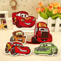 sewing accessories - Foreign cartoon cloth patch and baby clothes individuality cloth paste super dynamic cartoon car scrapbooking sewing accessories