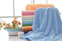 100% Bamboo Fiber bath sheets - Microfiber Bath Sheet Beach Towel Microfibre Towels Absorbent Cloths Drying Cloth Nanometer superfine fiber CM X70CM YJ3