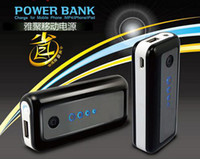 Direct Chargers for mp3, mp4  5600mah Portable USB External battery charger Power bank banks with flashlight 5600 mah Supply for smartphone iphone 5 5s 6 samsung htc