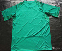 Thailand Quality World Cup Ivory Coast Away Shirts Green Soc...