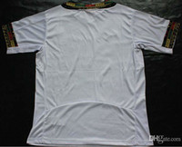 Thailand Quality World Cup Ghana Home Shirts White Soccer Je...