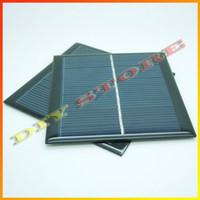 Polycrystalline mini solar panel - 5pcs V mA W mini solar panels small solar power v battery charge solar led light solar cell