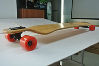 "Long Board Bamboo 39.5""x10"" Free Shipping 39.5""x10"" Bamboo Downhill Long board High Quality Truck And Wheels Longboard Bamboo"