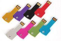 promotional pens - HOT Custom LOGO Metal Key USB Flash Drive USB Flash Memory Promotional mini gift Pen Drive GB