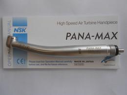 Wholesale NSK PANA MAX LED fiber optic dental fast high speed turbine handpiece