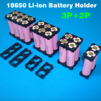 Wholesale 18650 battery holder used for cylindrical li ion battery pack cell holder Material PA66 GF30 UL94V0