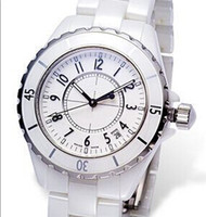 Wholesale New hot sale Christmas gift white ceramic j quartz movement lady gifts watch women wristwatches AAA quality
