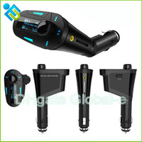Wholesale Hot Degree Rotation Car Kit MP3 Player FM Transmitter with LCD Display USB SD MMC Slot Car MP3 MP4 Player Remote Wireless Controller