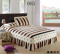 Cheap 100% Cotton Bed skirt Best Printed Home bedding set