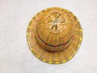 Wholesale Supply bamboo helmet Summer breathable helmet site bamboo cane helmet protective cap jinyi