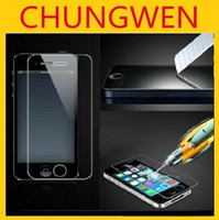 Wholesale Premium Thin mm Tempered Glass Screen Protector HD Protective Film For iphone G S S C without retail package