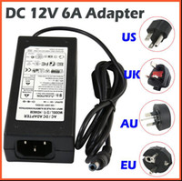 Wholesale X50 DHL LED switching power supply V AC DC V A A A A A A A A A Led Strip light transformer adapter lighting